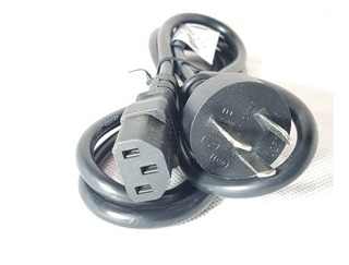 Cable Para Fuente Power Interlock Alimentación 220v 1,45 Mts