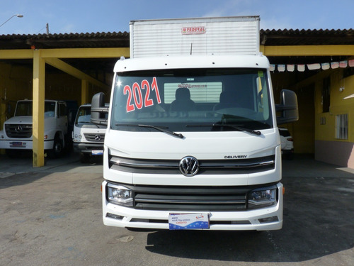 Imagem 1 de 14 de Volks Delivery Express 2021 Com Baú