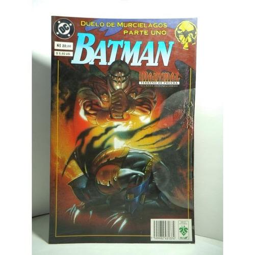 Batman Duelo De Murcielagos Tomo 1 Edit. Vid