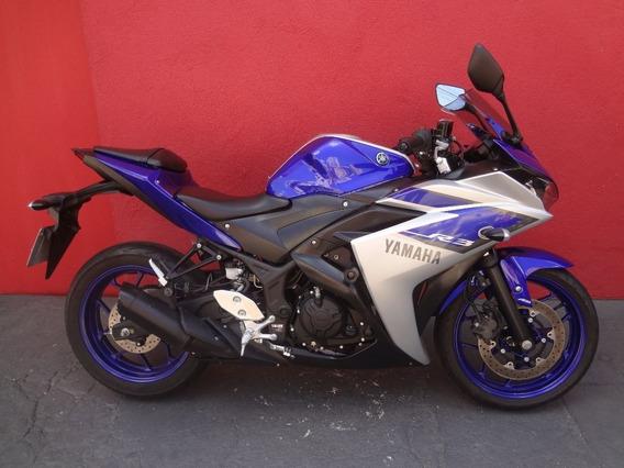 Yamaha Yzf R3 Abs 2016 Azul