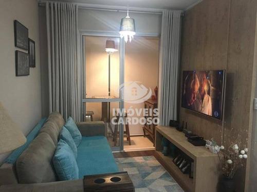 Imagem 1 de 21 de Apartamento Com 2 Dormitórios À Venda, 57 M² Por R$ 330.000 - Vila Lageado - São Paulo/sp - Ap0218