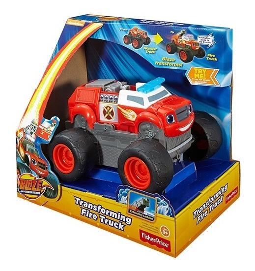Blaze Camión Transformable - Fisher Price Dwf67