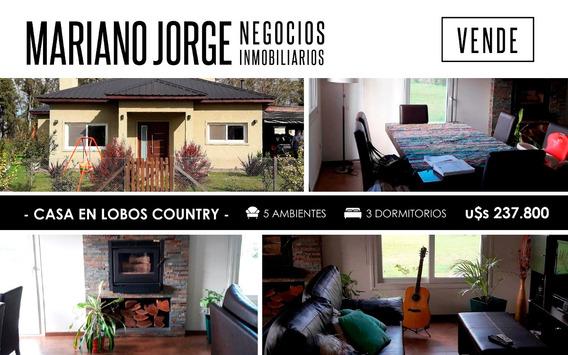 Casa En Lobos Country