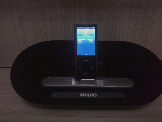Caixa De Som Bluetooth Philips Ds3510 + iPod Nano