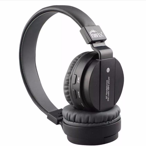 Fone Bluetooth Mp3,fm Micro Cartão Sd Fx-b8 Atende Telefone