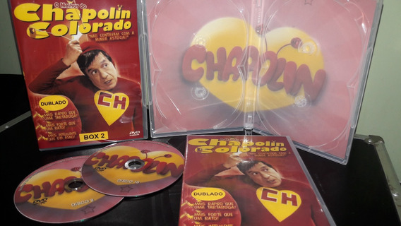 Dvd Chapolin Colorado - Dublagens Originais ( 10 Dvds )