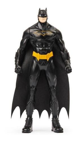 Imagem 1 de 2 de Boneco Batman Roupa Preta 15cm - Dc Comics - Spin Master