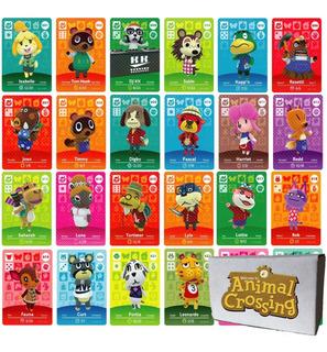 5 Tarjetas Nfc Amiibo - Animal Crossing + Empaque Oficial
