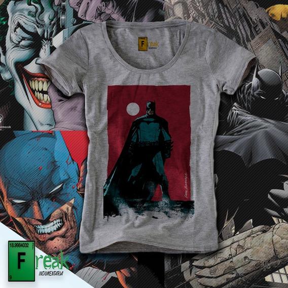 Remera Batman Comic Luna Roja Mujer