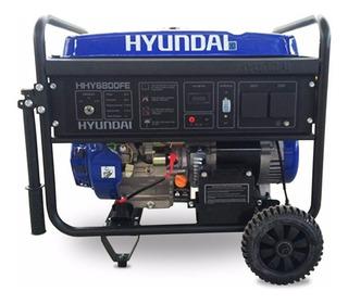 Grupo Electrogeno Generador Hyundai Hhy3000fe Con Kit Ruedas