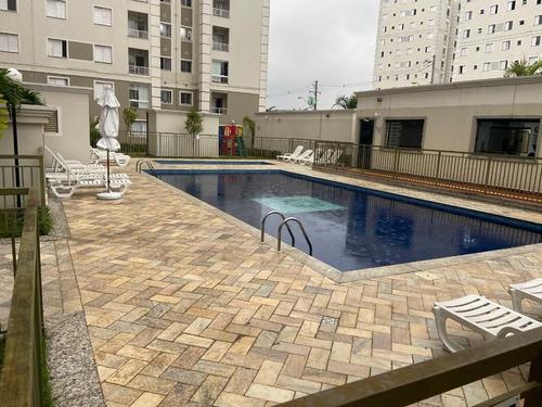 Imagem 1 de 17 de Apartamento Com 2 Dormitórios À Venda, 50 M² Por R$ 320.000 - Utinga - Santo André/sp - Ap6166