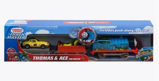 Tren Thomas Track Masters Set Thomas Y Ace Más Vagónes!