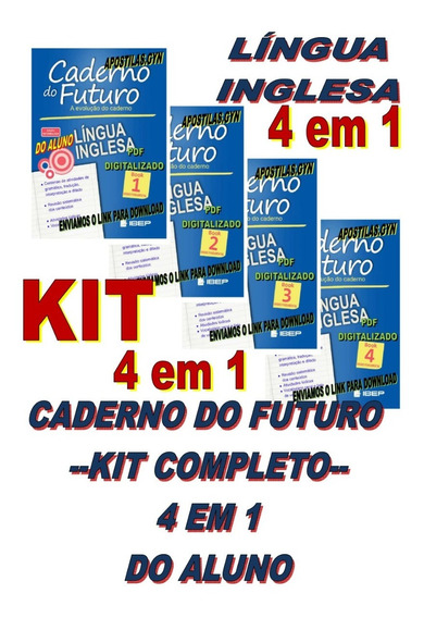 Caderno Do Futuro Ingles 6 Ao 9 Book 1,2,3,4, Do Aluno