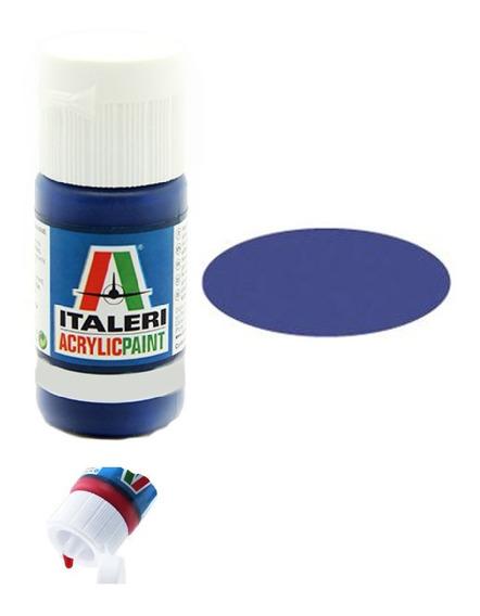 Tinta Acrílica Medium Blue [f] Fs35095 4307ap 20ml Italeri