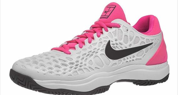 Zapatillas Nike Air Zoom Cage 3 Hc Platinium/pink