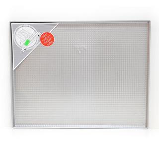Placa Masa Asadera Doña Clara N8 Acero Aluminizado 37x47x1,