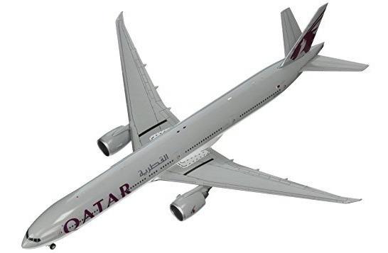 Modelo De Avión Gemini200 Qatar B777-300er (escala 1: 200)
