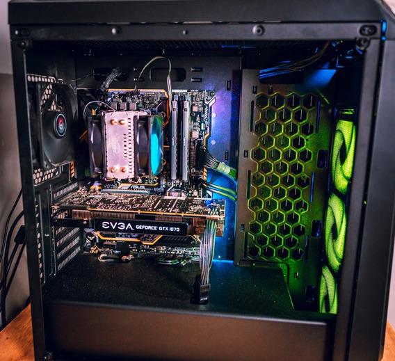 Computador - Intel I7 8700k + 16gb Ram + Gtx 1070 8gb