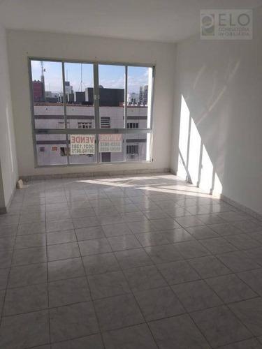 Apartamento Com 2 Dormitórios À Venda, 84 M² Por R$ 320.000,00 - Aparecida - Santos/sp - Ap2198