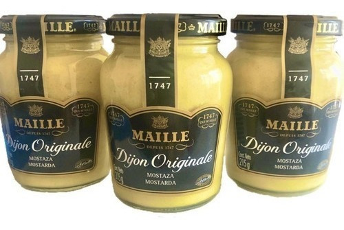 Mostarda Maille Dijon 215g Cozinha Culinária Francesa