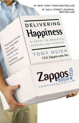Delivering Happiness - Tony Hsieh (paperback)