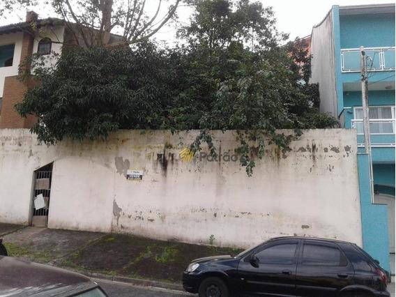 Terreno À Venda, 308 M² Por R$ 550.000,00 - Parque Espacial - São Bernardo Do Campo/sp - Te0257