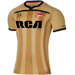 Camiseta Estudiantes De La Plata 2020 Under Armour Dorada 3ª