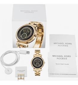 Relógio Michael Kors Smartwatch Access Sofie Mkt5021 Gold