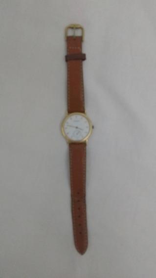 Relógio Tissot Unissex - Pulseira De Couro - Todo Original