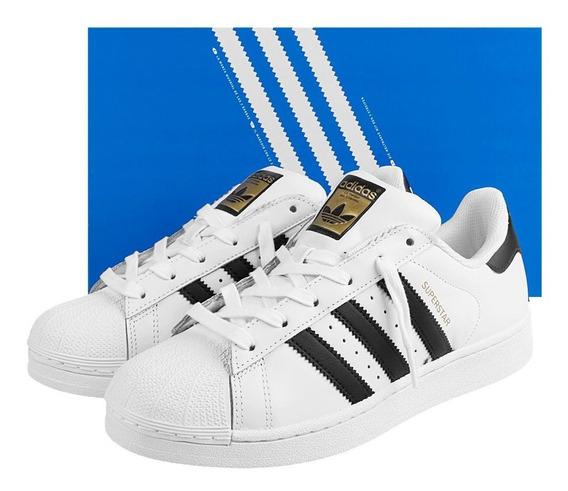 Tênis adidas Superstar Foundation Originals 35 Oferta 12x
