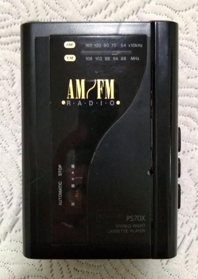 Walkman Cce Ps70x Antigo 1991 Ler Descrição Do Funcionamento