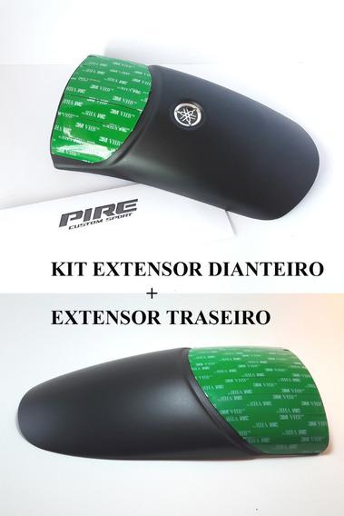 Extensor Alongador Prolongador Paralamas Nova Fazer 250 Kit