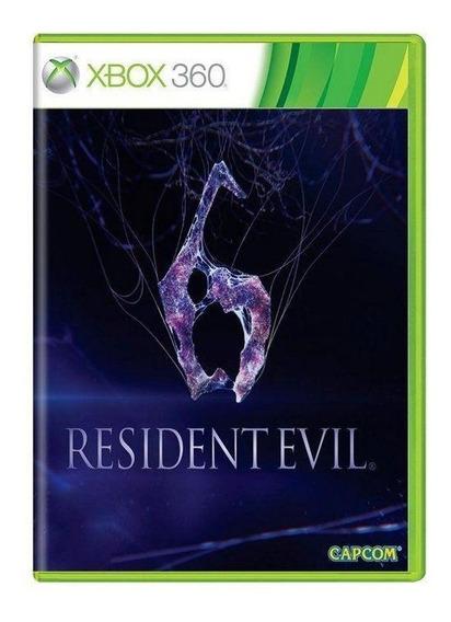 Resident Evil 6 Xbox 360 Mídia Física Pronta Entrega
