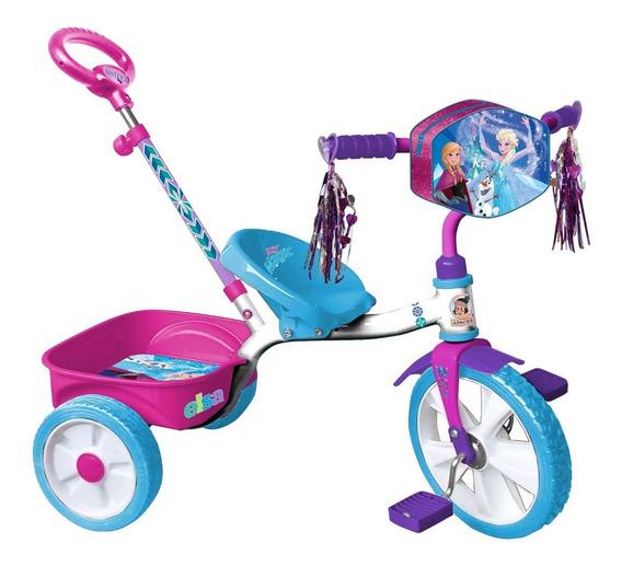 Triciclo Apache Frozen Rodada 12 Cajuela Y Baston