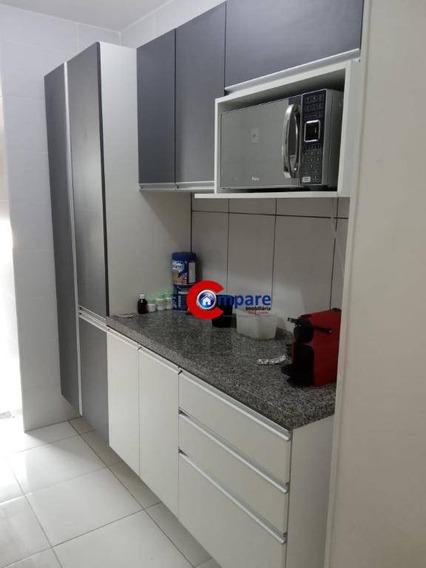 Apartamento Com 3 Dormitórios À Venda, 72 M² Por R$ 330.000 - Macedo - Guarulhos/sp - Ap8823
