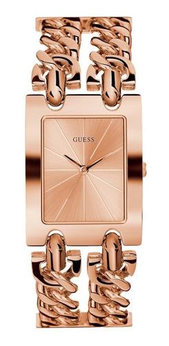 Reloj Guess Mod Heavy Metal Dama W1117l3 Oro Rosa