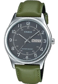 Reloj Casio Mtp-v006l-3b. Cuero. Nuevo. Envío Gratis