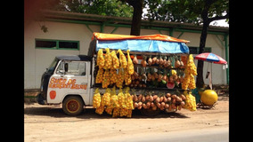 Gravação Carro Das Laranjas Banana Abacaxi Ovo Uva