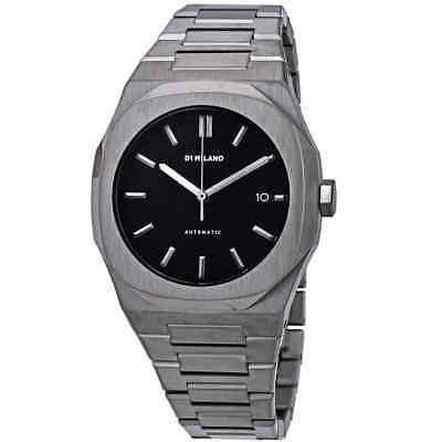 D1 Milano P701 Reloj Automático Para Hombre Con Esfera Neg