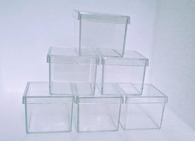 60 Caixinhas Acrílicas 4 X 4