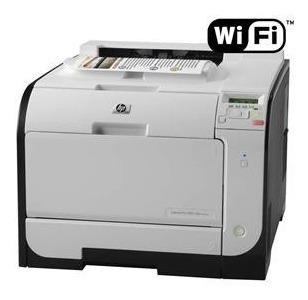 Impressora Hp Laserjet Pro M451dw Color Com Toners Cheios
