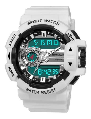 Sanda599 Relojes Luz Nocturna Impermeable Multifuncional Al