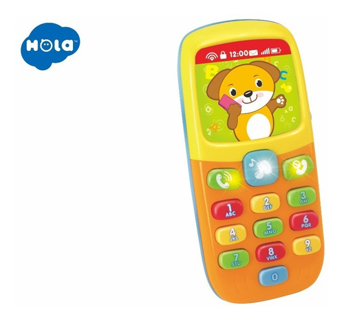Celular De Juguete Con Sonido Telefono Hola 956 Educando F