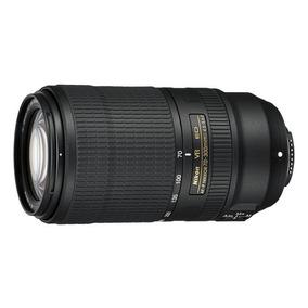 Lente Nikon Af-p Dx Nikkor 70-300mm F/4.5-6.3e Ed Vr