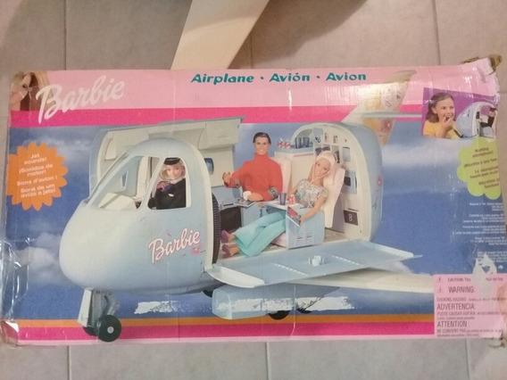 Avion De Juguete Barbie Marca Matel