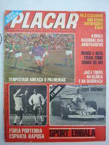 Revista Placar Nº 272 Jun/75 Com Poster Do Dé, Do Vasco