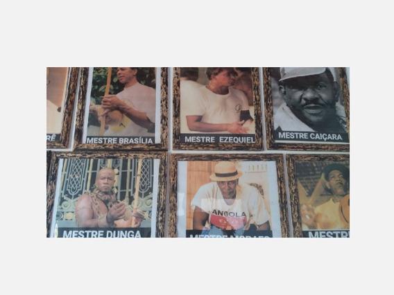 Colecão Capoeira 35 Porta Retrato E Quadro Colecão
