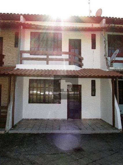 Casa Em Condominio, 2 Quartos, Suíte, Vaga E Lazer - Barroco - Ca0032