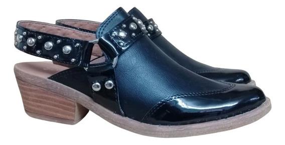Zapato Dama Chatita Mujer Sueco Moda Super Liviana