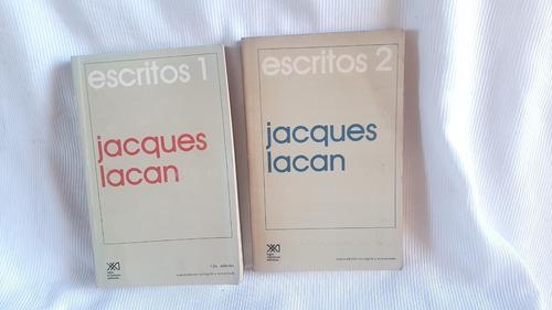 Escritos 1 Y 2 Jacques Lacan Siglo Xxi